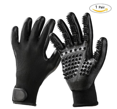 Silicone Pet brush Glove Deshedding Furmins Efficient Grooming Cat Glove Dog Pet Cleaning Supplies Pet Glove Dog