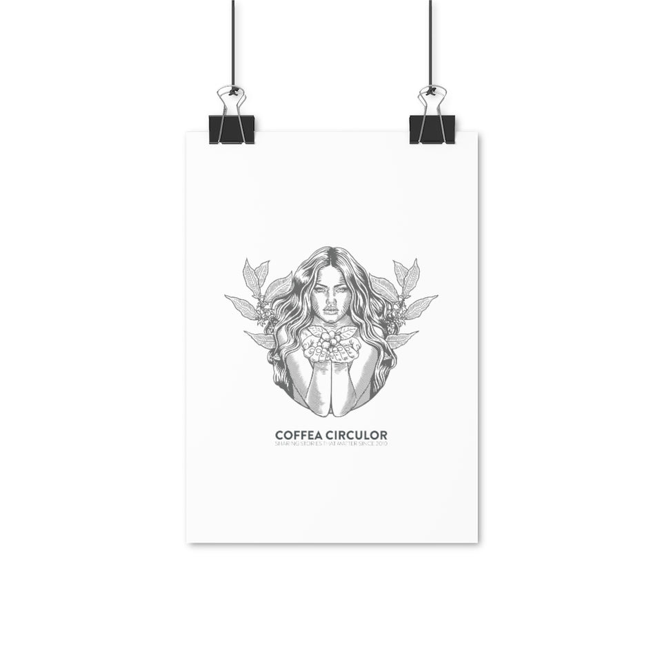 Coffea Circulor Angel Posters
