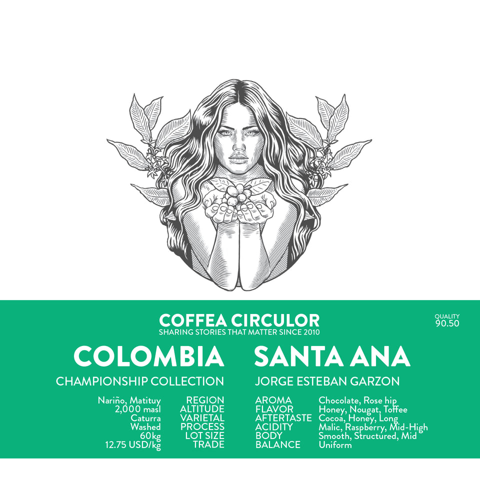 COLOMBIA Santa Ana Washed