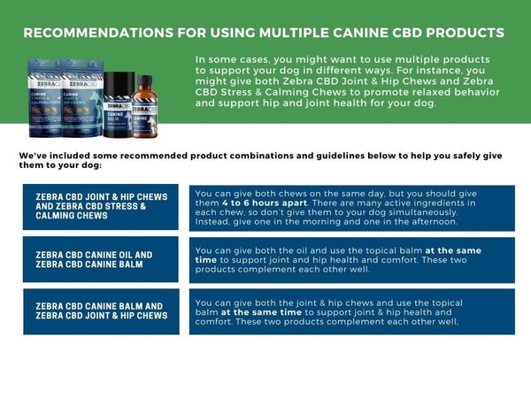 how to give your dog multiple CBD products