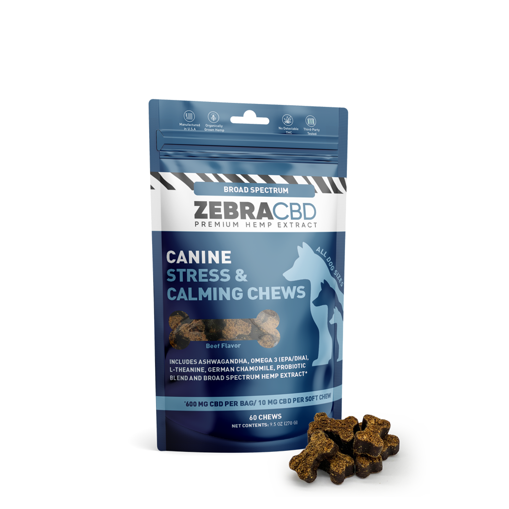CBD calming chews for dogs
