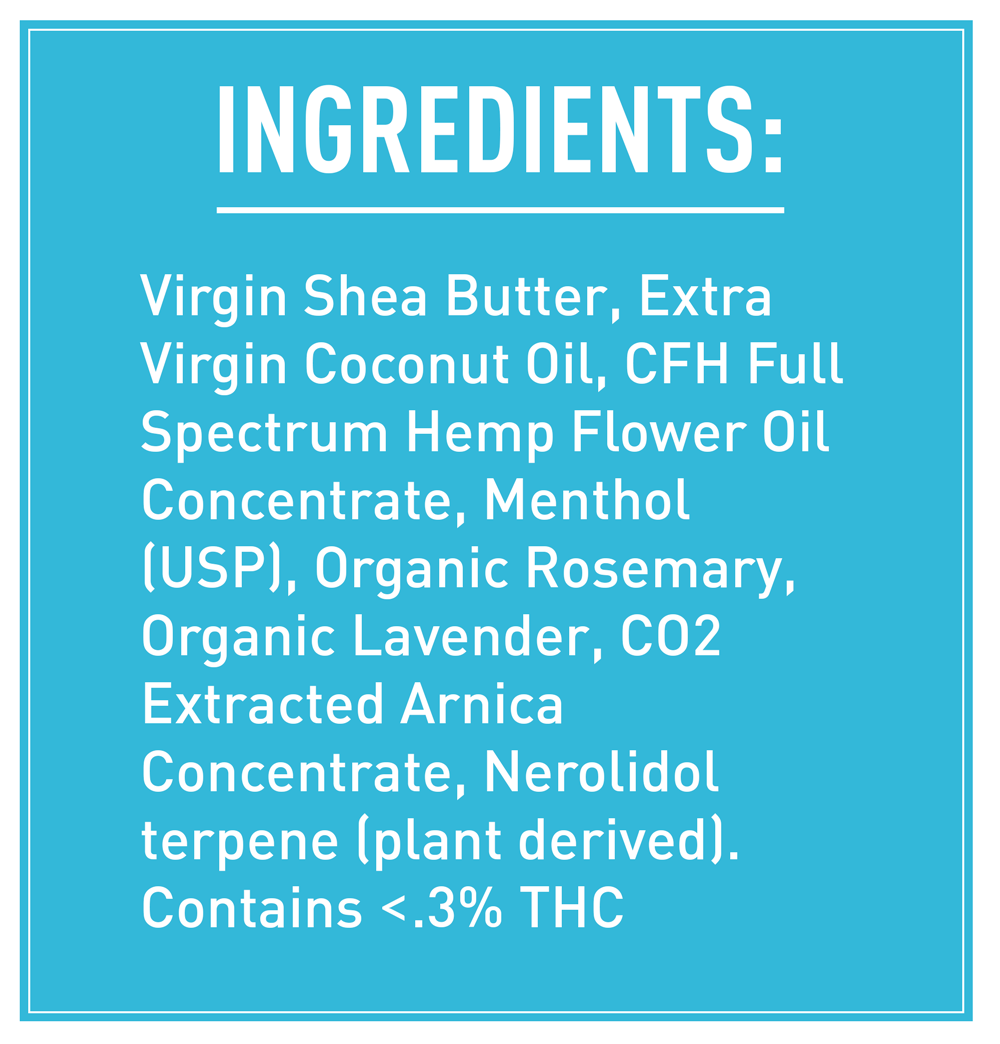 Zebra CBD 4-pack ingredients