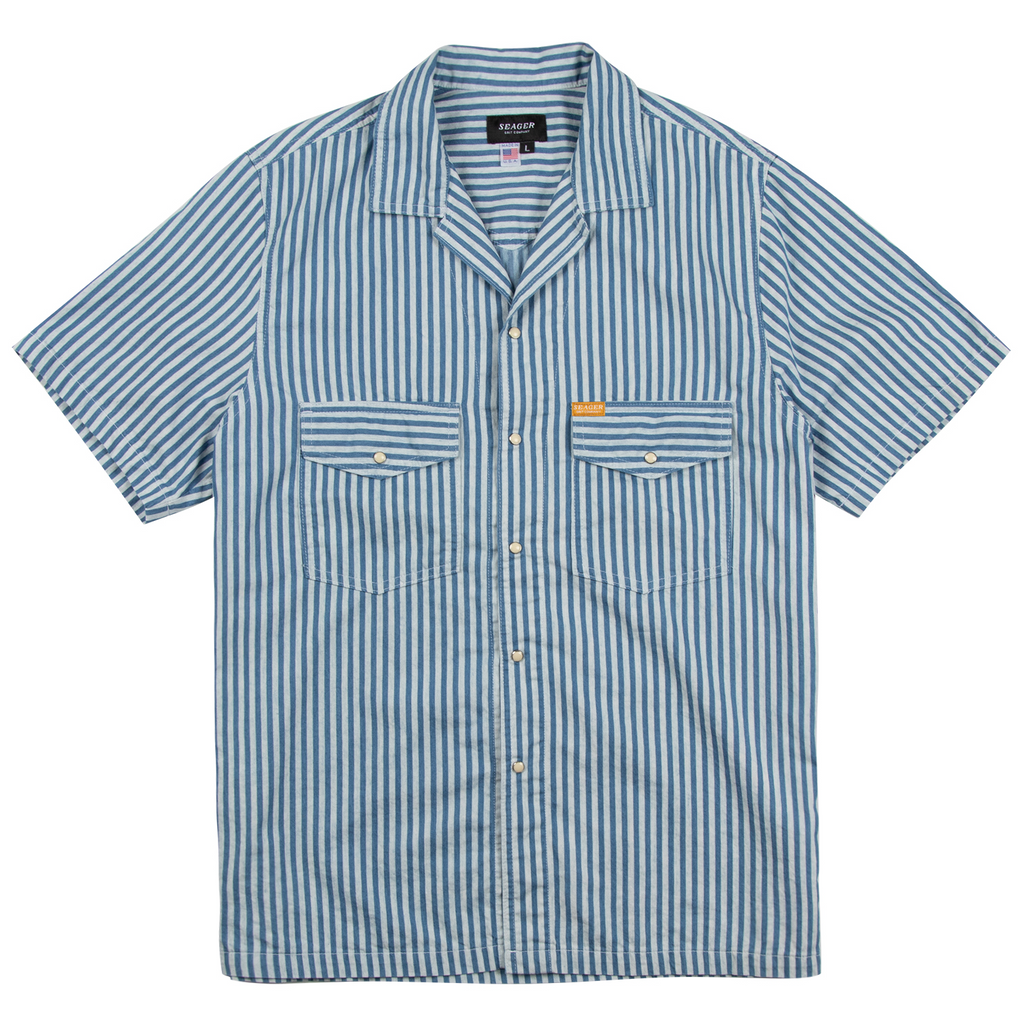 Whippersnapper S/S Blue and White Striped