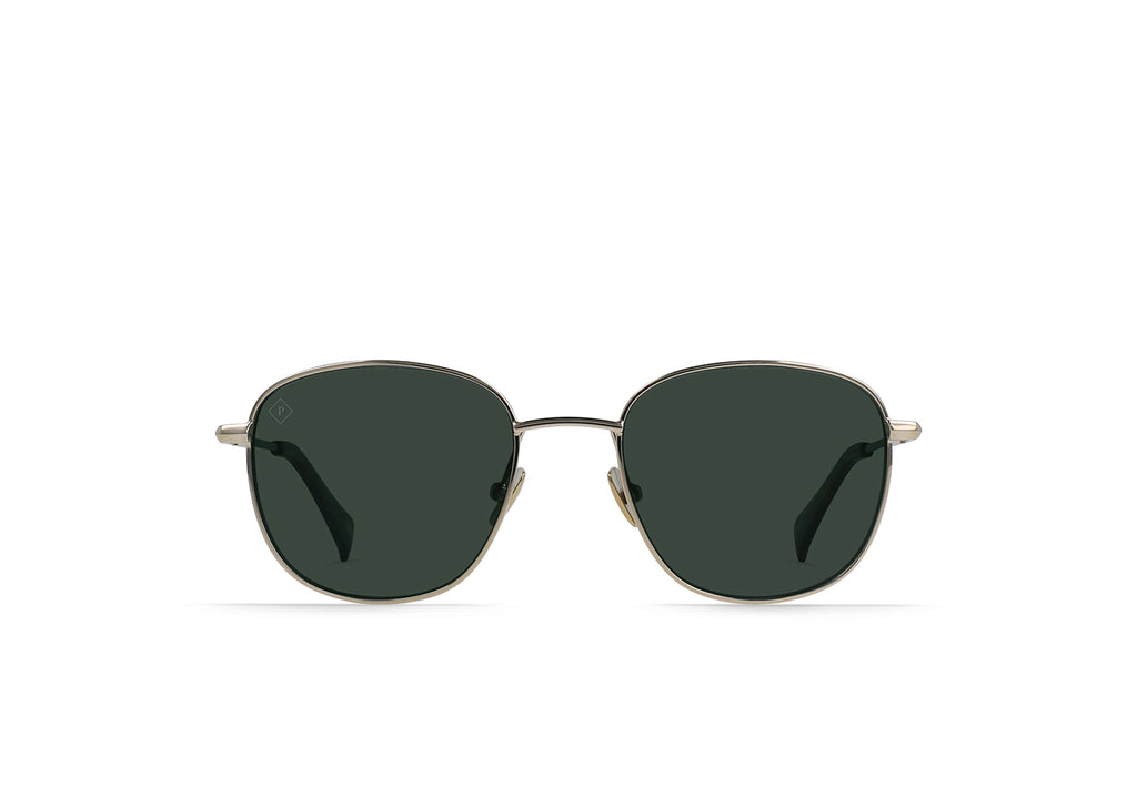 Seager x Raen Morrow Gold/ Polarized Green