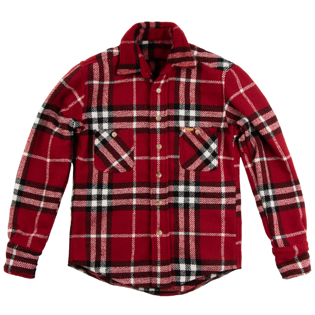 Earp Flannel Jacket Red/White