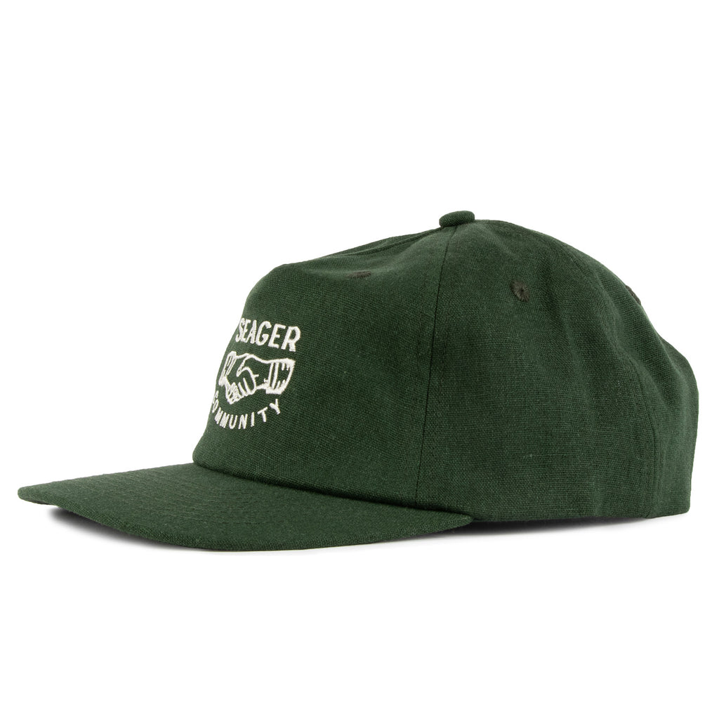 Co.mmunity Hemp Snapback Green