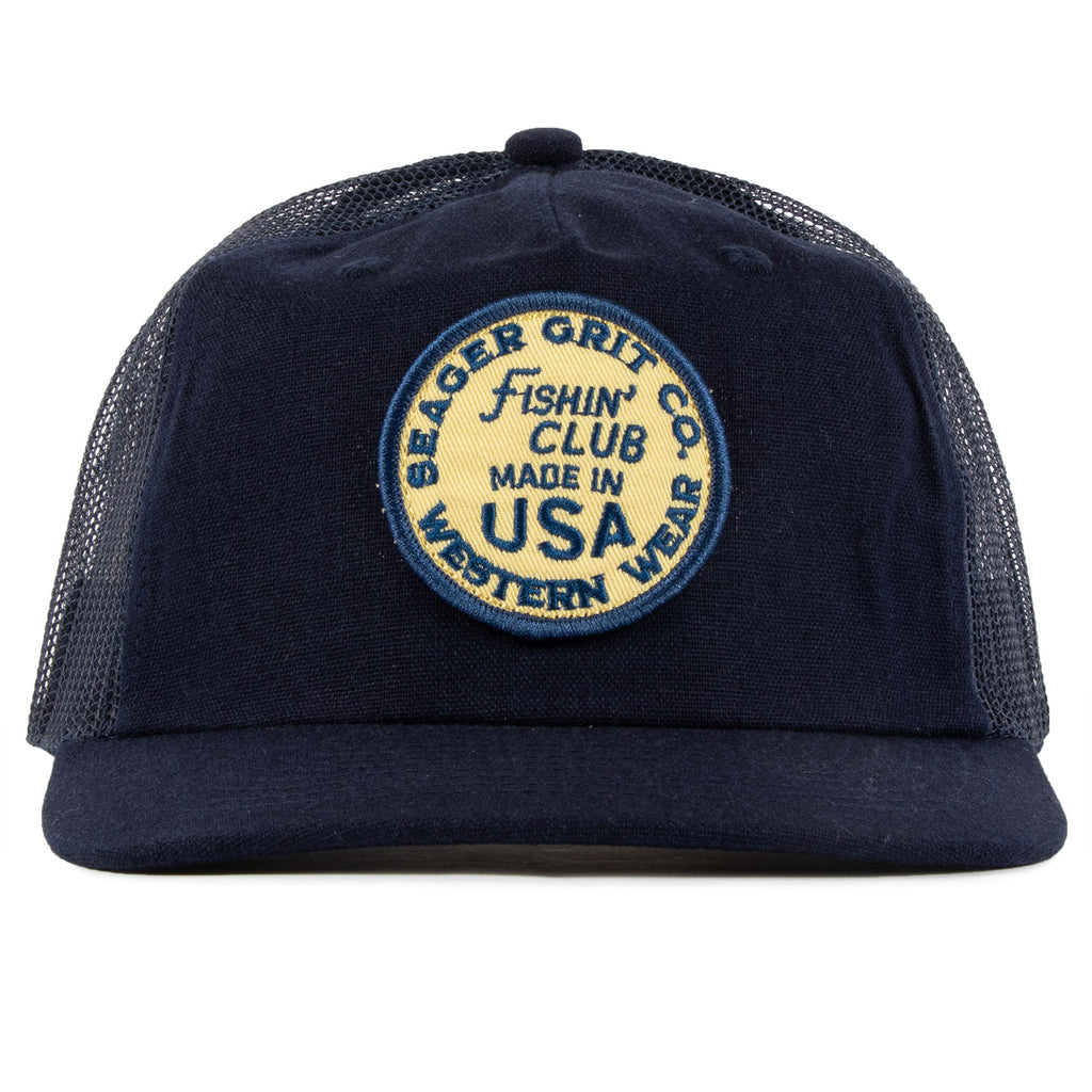 Chief Hemp/Mesh Snapback Navy