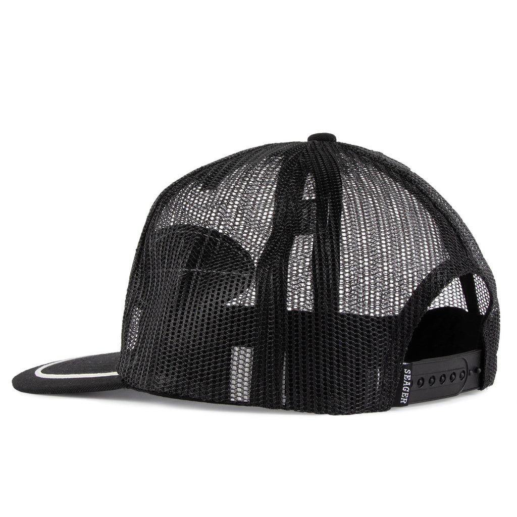 Old Town All Mesh Snapback Black