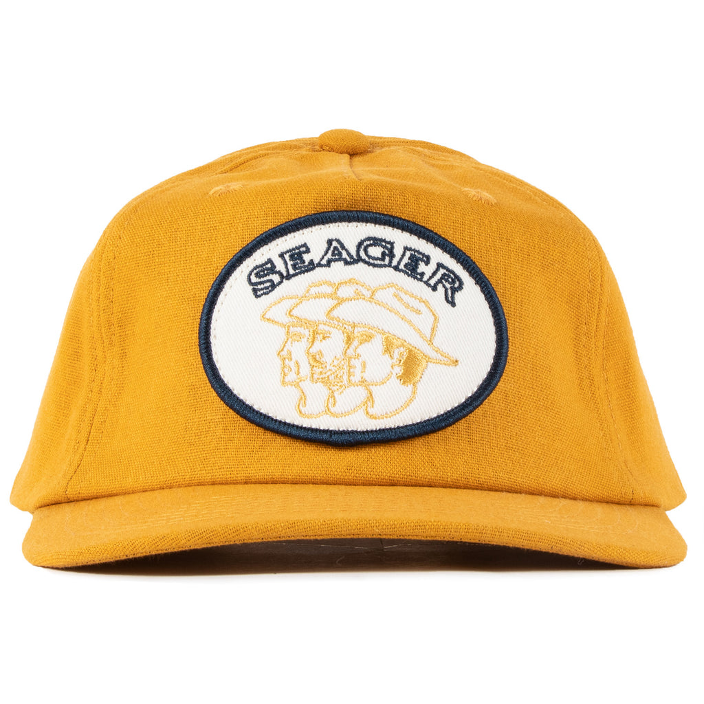 Storytime Hemp Snapback Burnt Yellow