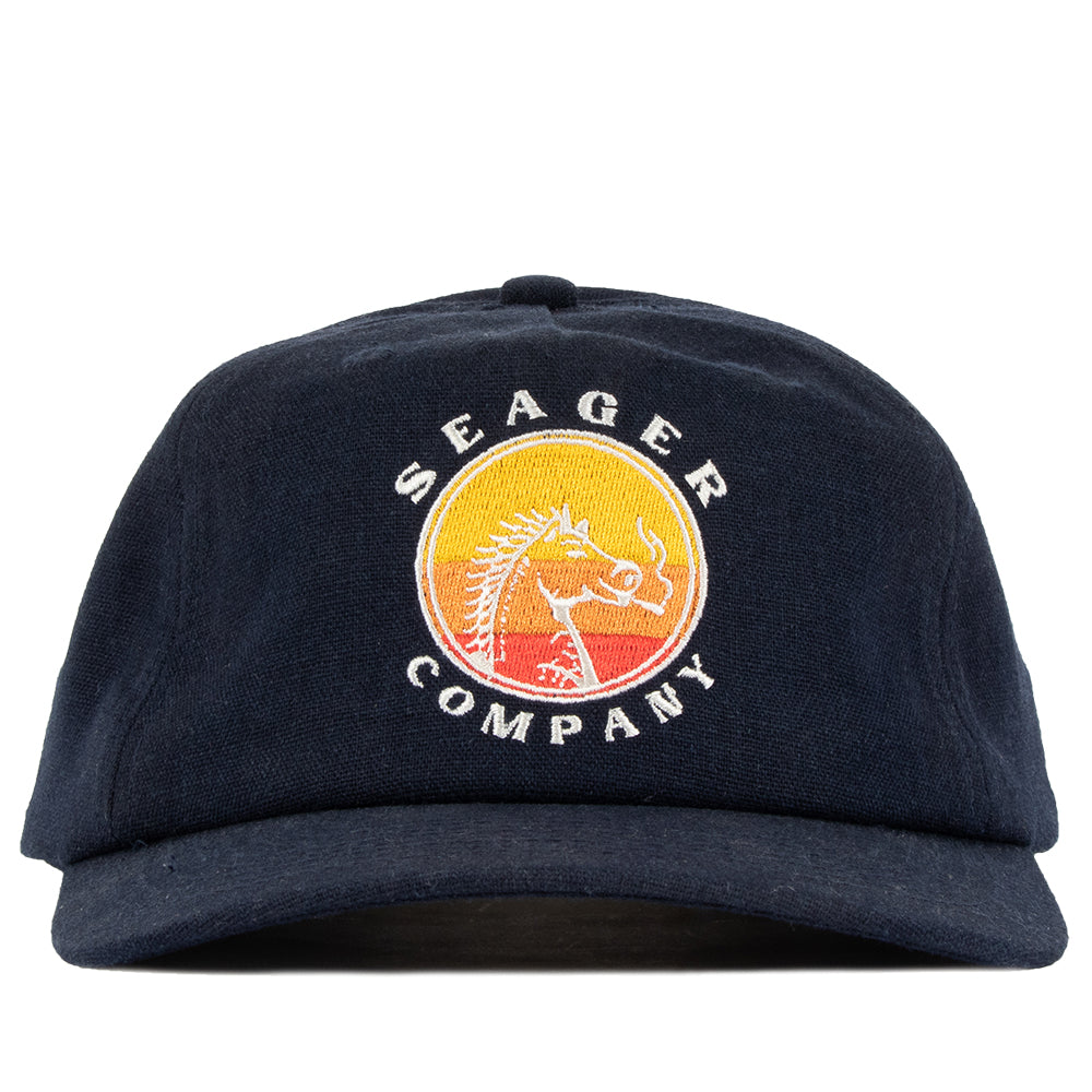 High Horse Hemp Snapback Navy