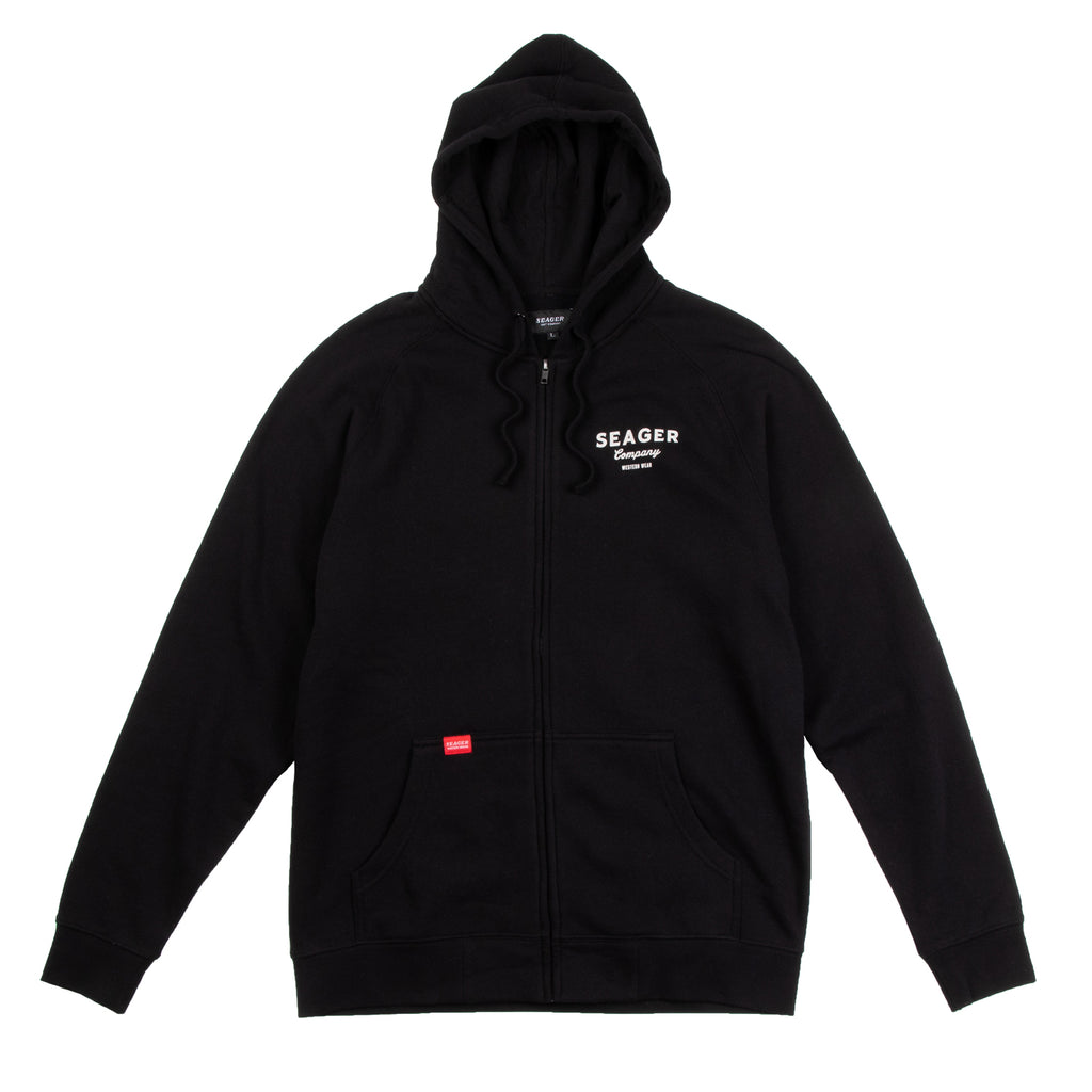 Shop Zip Up Hoodie Black