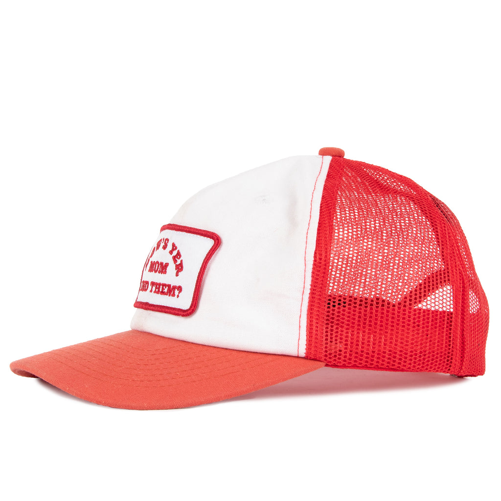 The Debbie Mesh Snapback Red