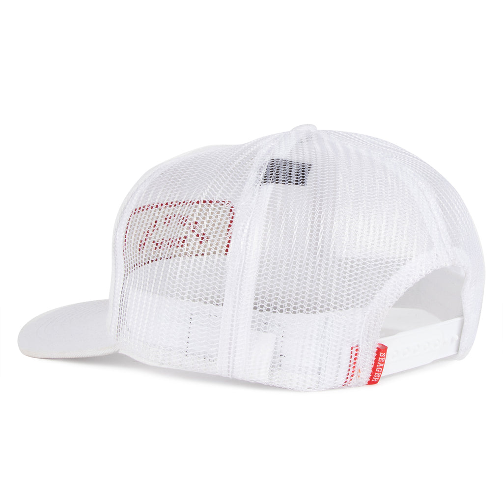 The Debbie Mesh Snapback White