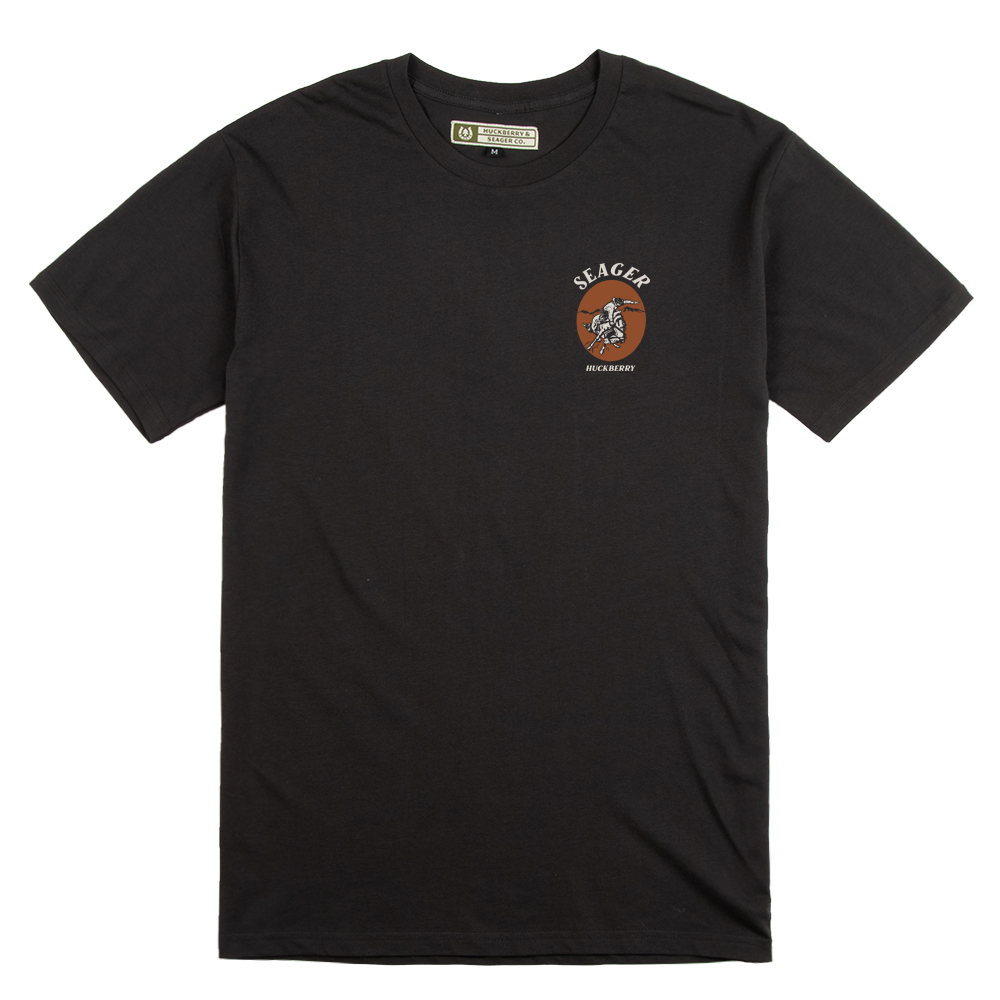 Seager x Huckberry Rodeo Tee Coal