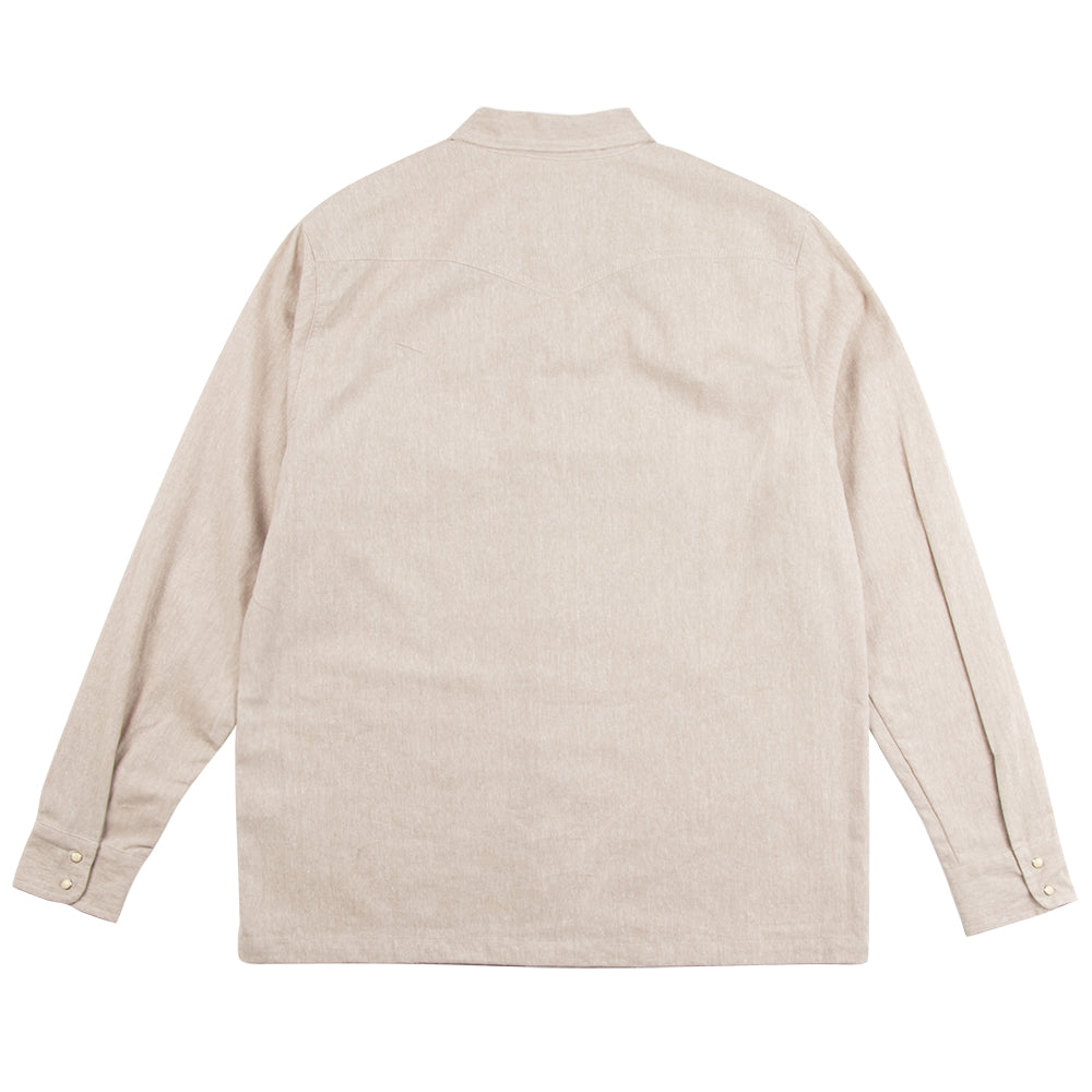 Seager x Huckberry Whippersnapper L/S Linen Sand