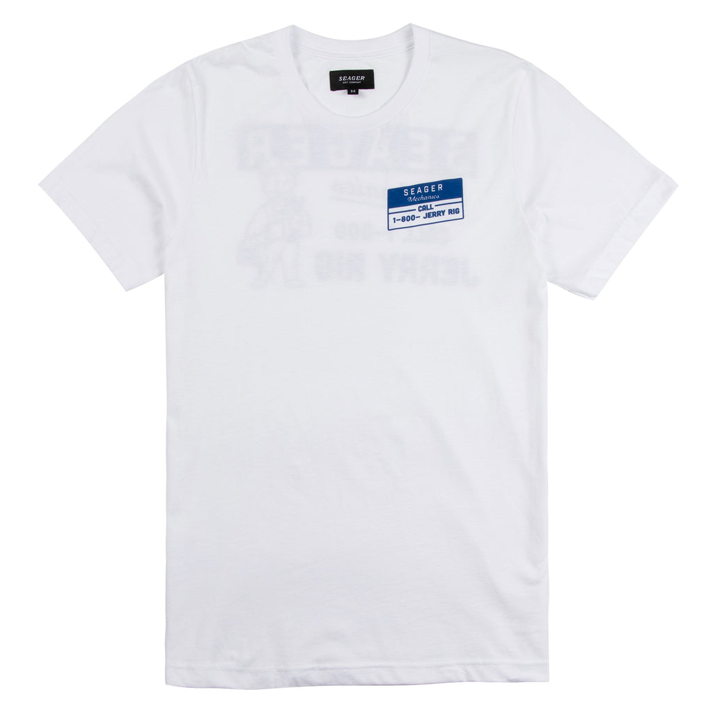Jerry Rig Tee White