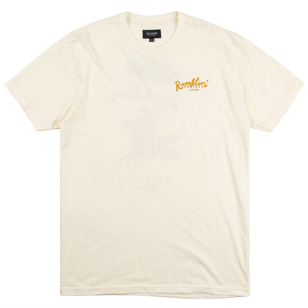Ramblin Variety Show Tee Off-White