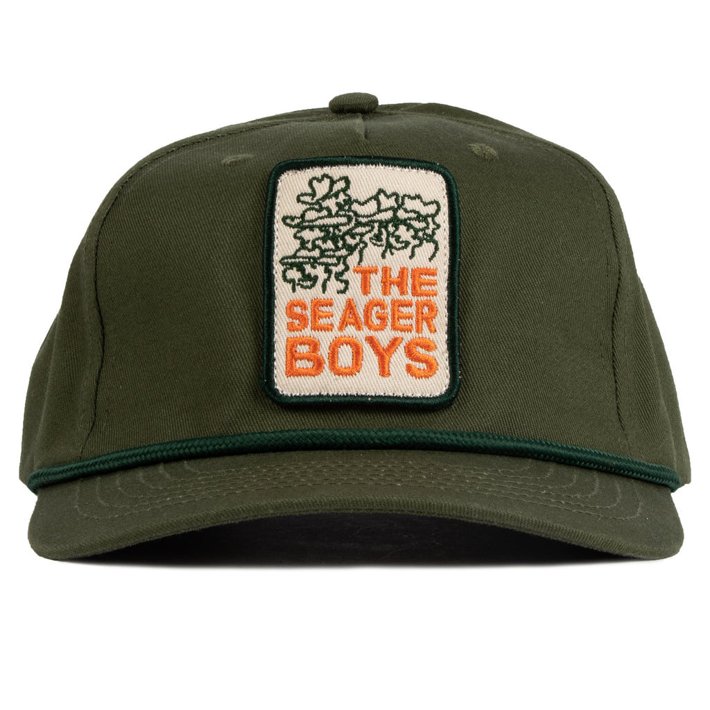Seager Boys Snapback Green
