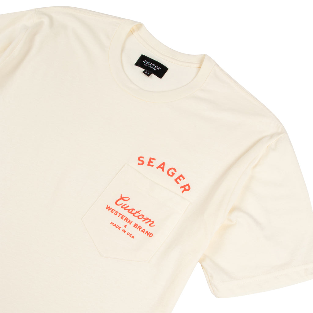 Shop Pocket Tee Off-White