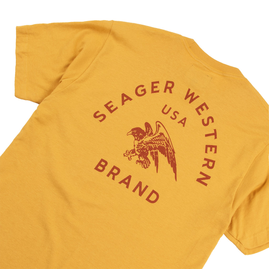 Winchester Tee Washed Yellow