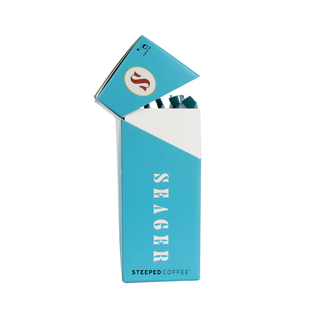 Seagerettes 5-Pack Steeped Coffee Bags