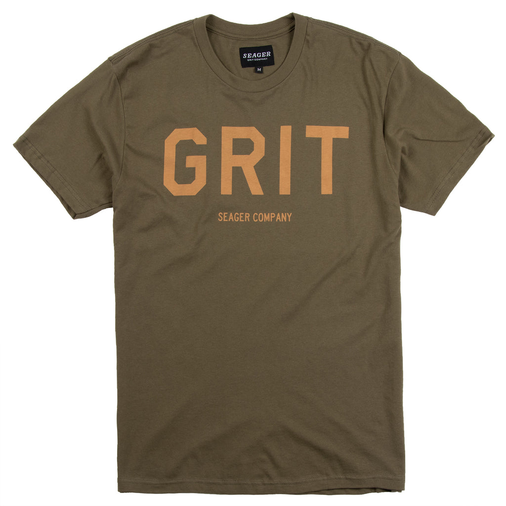 Grit Tee Military Green