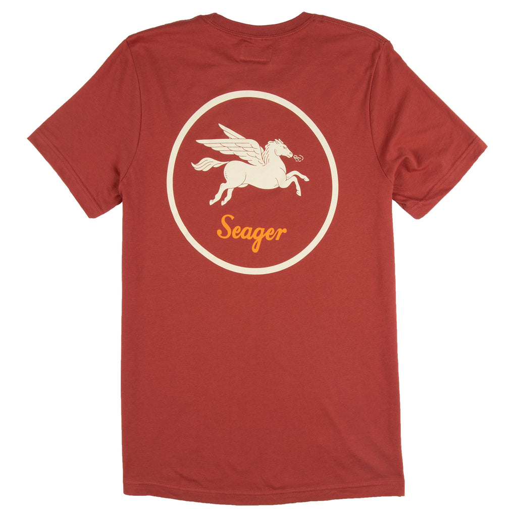 Bronco Tee Clay Red