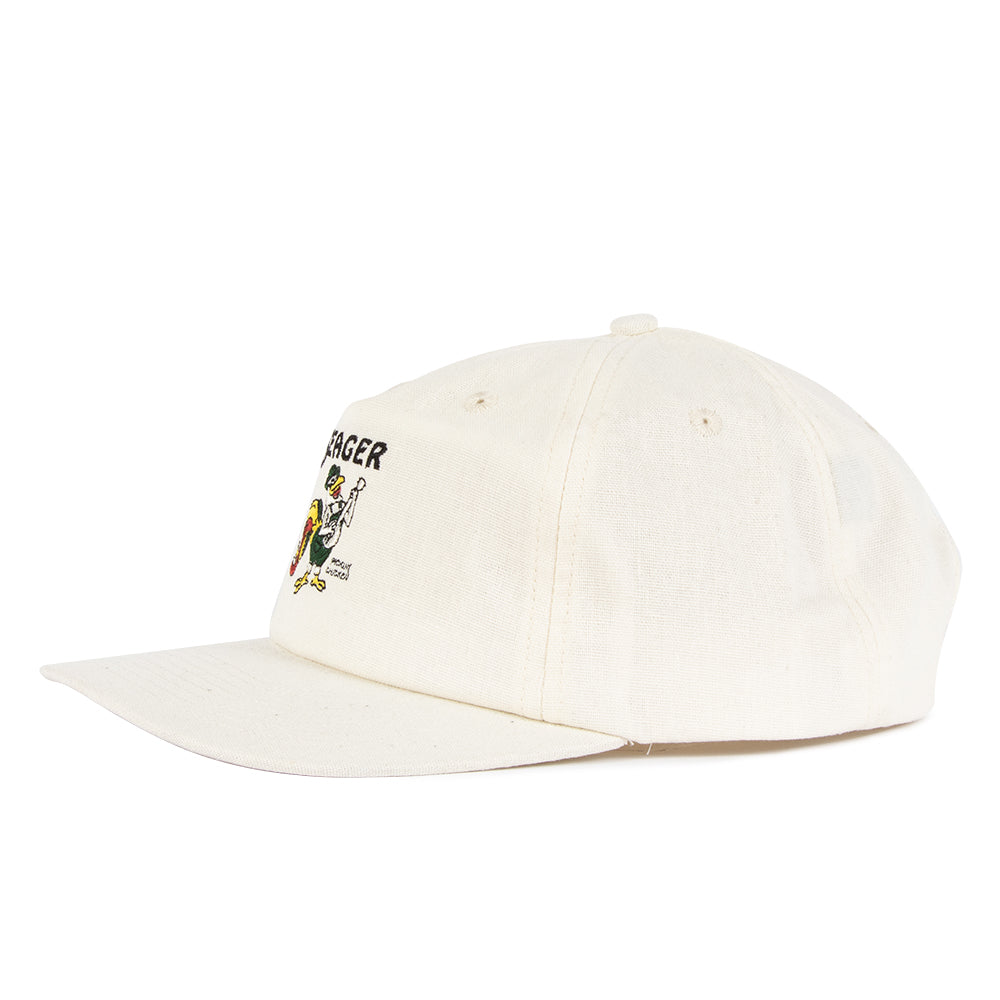 Pickin' Chicken Hemp Snapback Cream