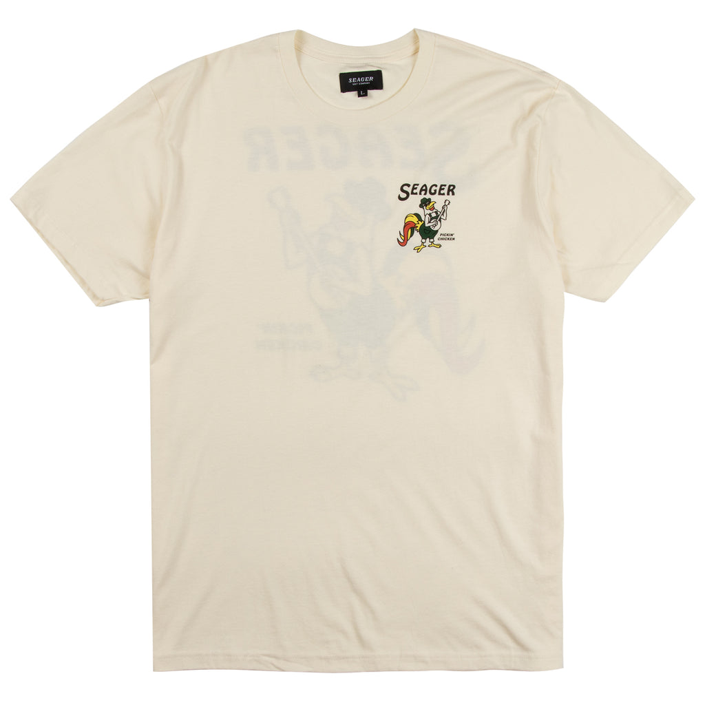 Pickin' Chicken Tee White
