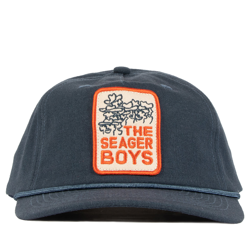Seager Boys Hemp Snapback Navy
