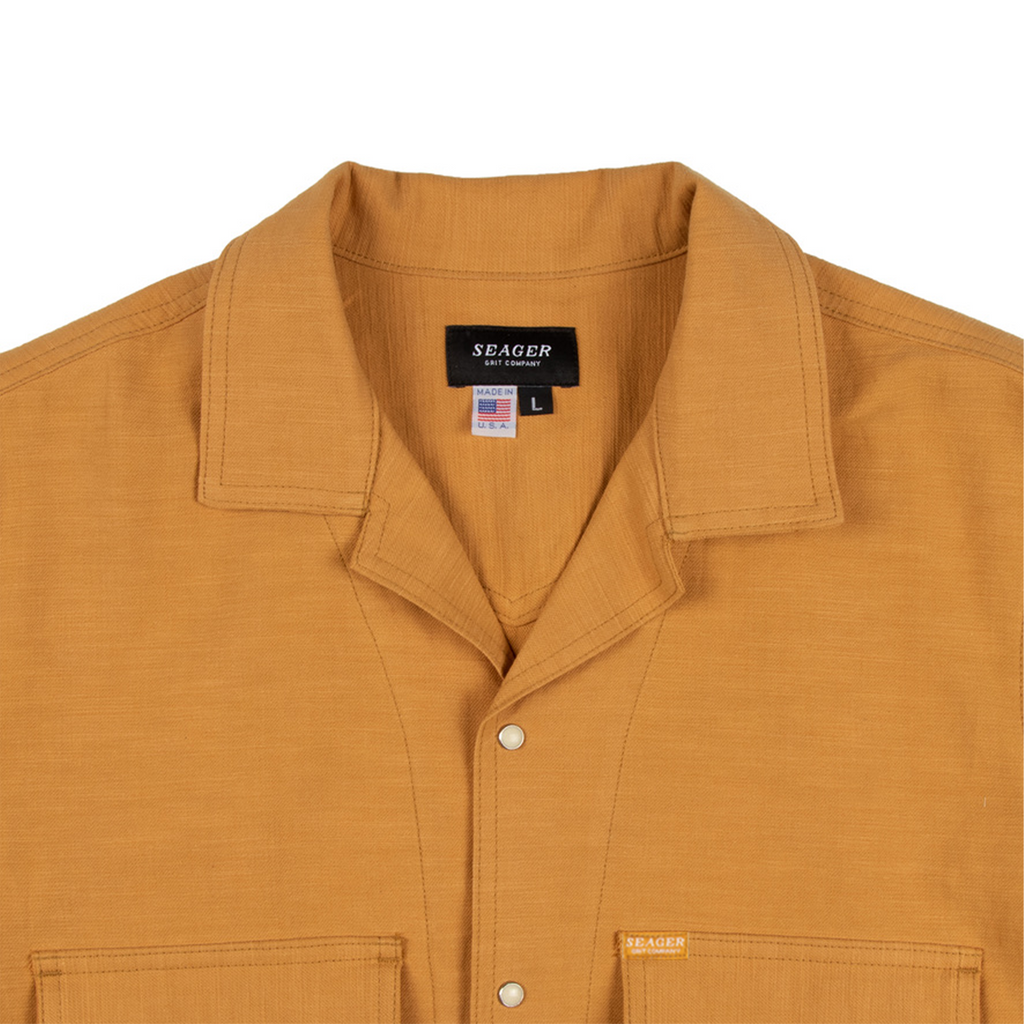 Whippersnapper S/S Linen Burnt Yellow