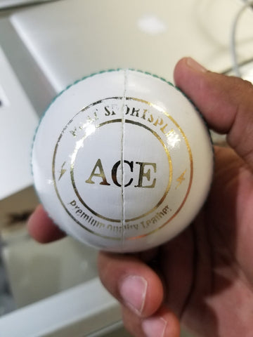 Phat ACE White Cricket Ball