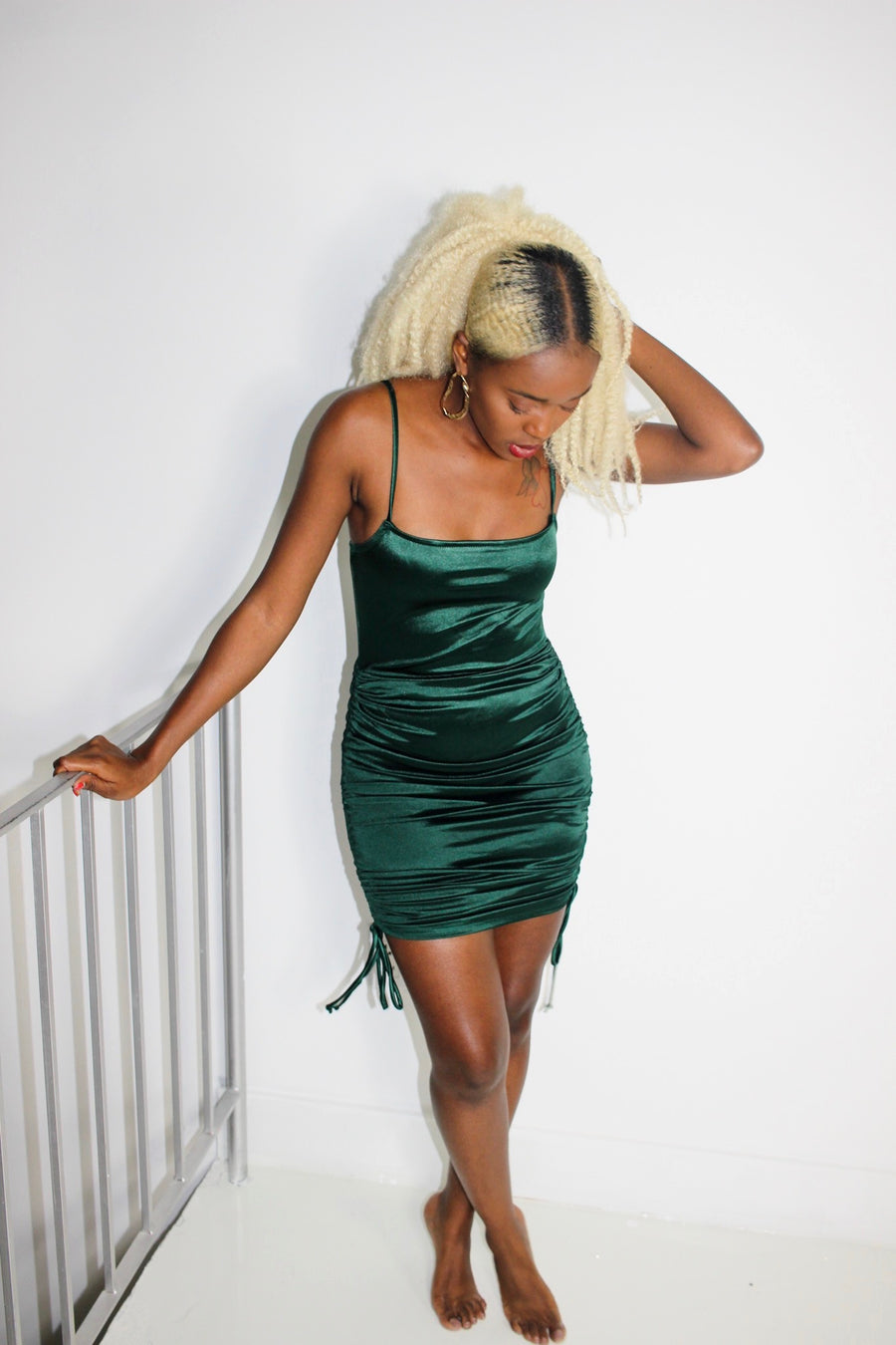 Dare to Be Bodycon Dress (Green)