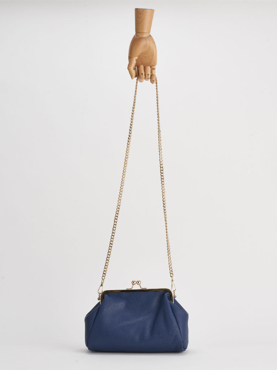 """Vivi"" Snap Purse, Blu"