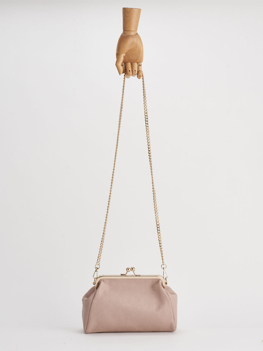 """Vivi"" Snap Purse, Cipria"