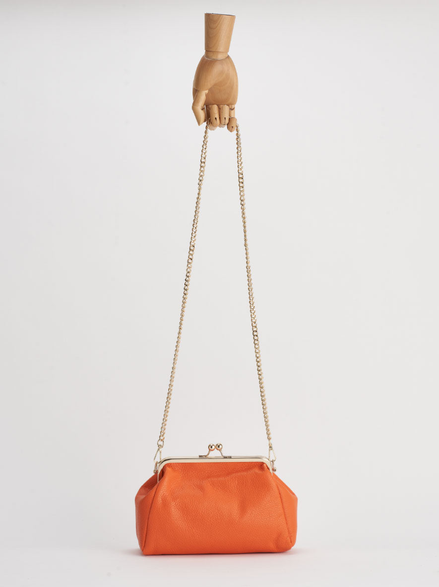 """Vivi"" Snap Purse, Arancia."