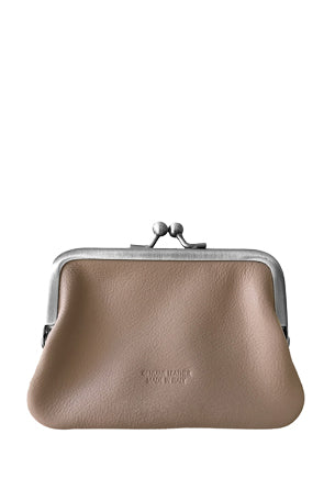 Leather 'Piccolo' Purse, Funghi