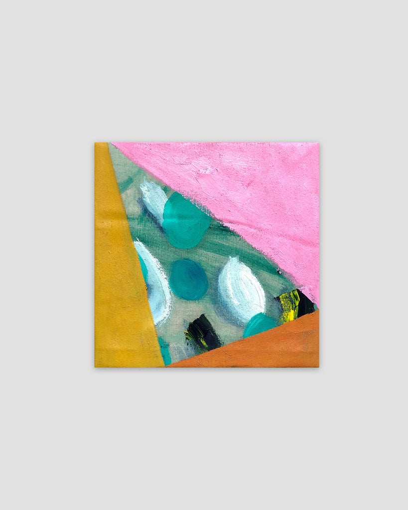 Untitled Pink and Green, 2018