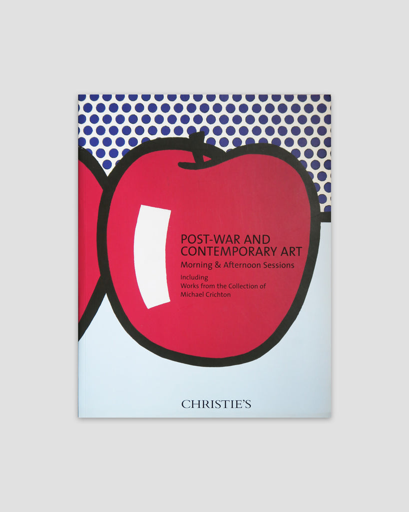 Post-War and Contemporary Day Sale: Michael Crichton Collection Catalogue, 2011