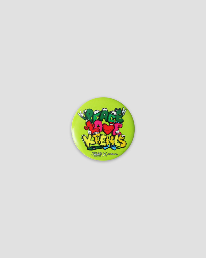Kaws Peace Love Kiehl's Pin, 2009