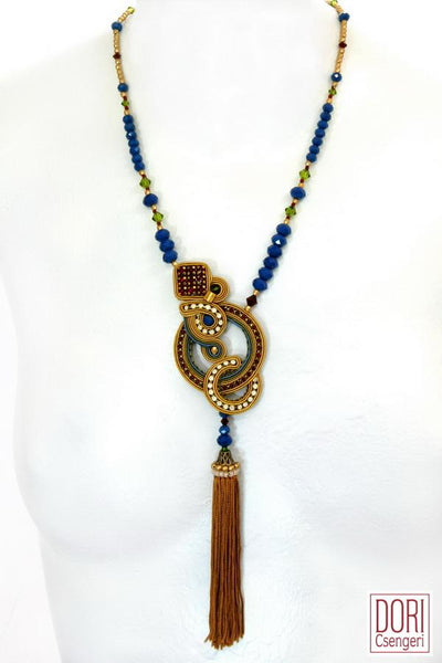 Debonair Tassel Necklace