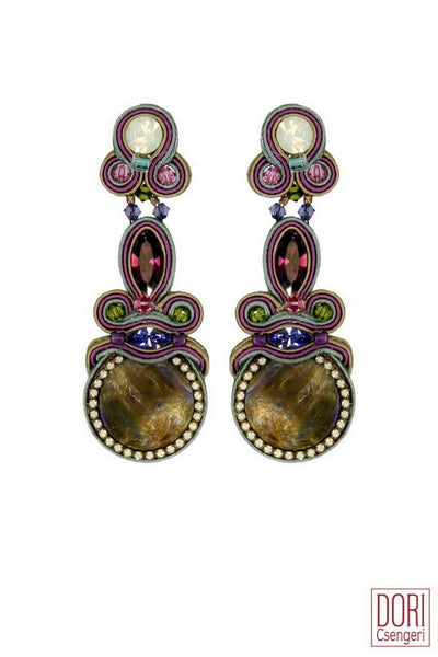 Alice Statement Clip-on Earrings