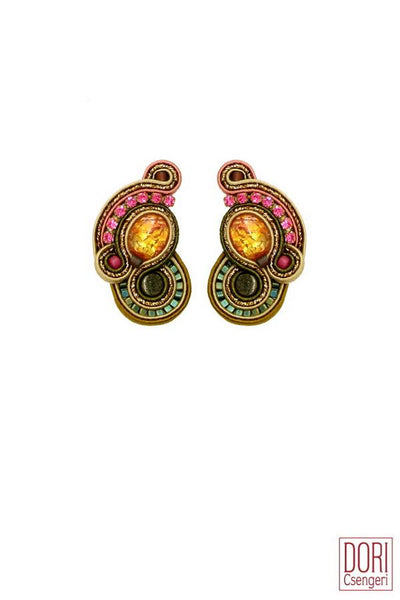 Aimee Clip On Earrings