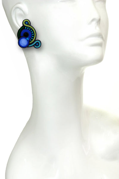 Bellagio Blue Earrings