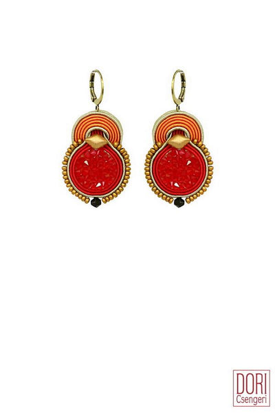 Bossa Nova Red Earrings