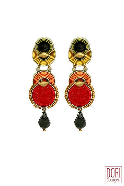 Bossa Nova Evening Earrings