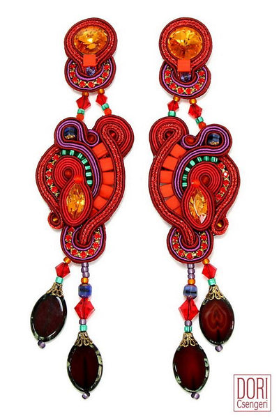 Enamour Statement Earrings