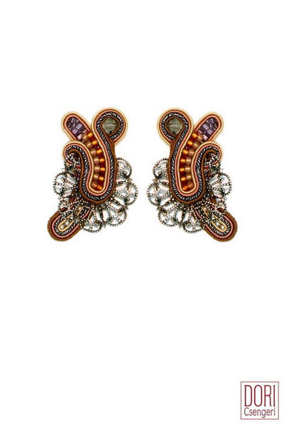 Florence Clip On Earrings