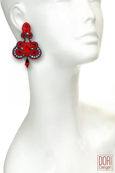 Fandango Statement Earrings