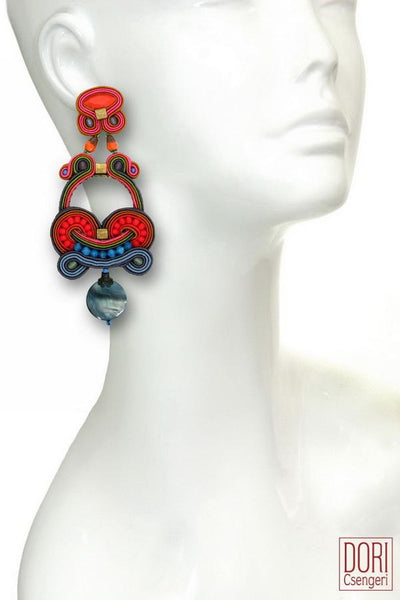 Fusion Colorful Earrings